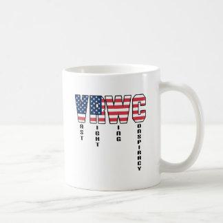 Vast Right Wing Conspiracy Basic White Mug