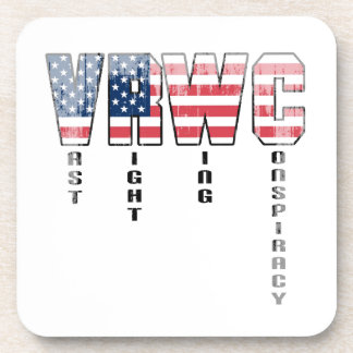 Vast Right Wing Conspiracy Faded.png Drink Coasters