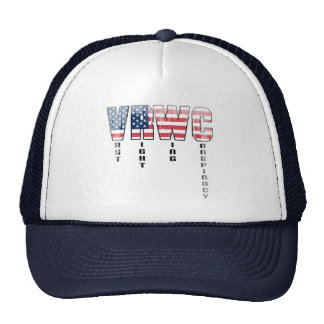 Vast Right Wing Conspiracy Faded.png Mesh Hat