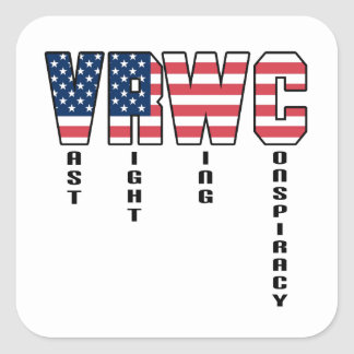 Vast Right Wing Conspiracy Square Sticker