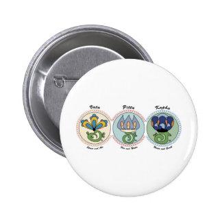 Vata-Pitta-Kapha Buttons