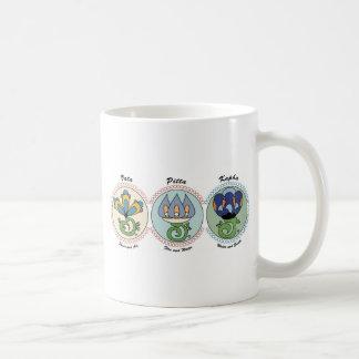 Vata-Pitta-Kapha Basic White Mug