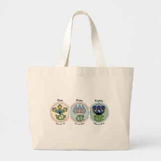 Vata-Pitta-Kapha Large Tote Bag