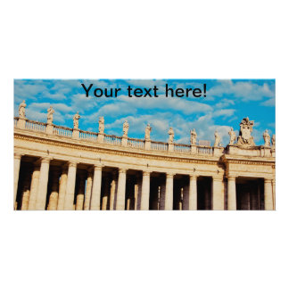 Vatican architecture photo greeting card