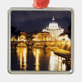 Vatican Bridge Of Angels Christmas Ornament