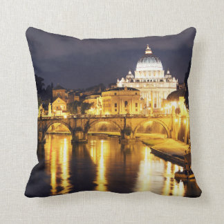 Vatican Bridge Of Angels Cushion