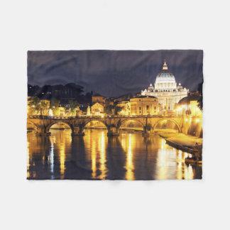Vatican Bridge Of Angels Fleece Blanket