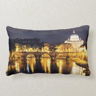 Vatican Bridge Of Angels Lumbar Cushion
