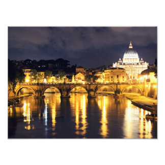 Vatican Bridge Of Angels Photo Print