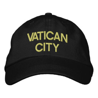 Vatican City* Adjustable Hat Embroidered Hat