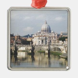 Vatican City Christmas Ornament