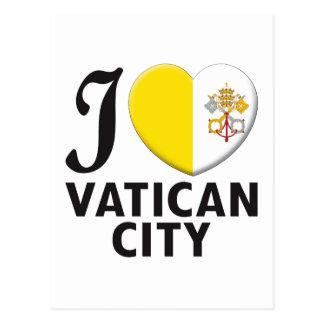Vatican City Love Postcard