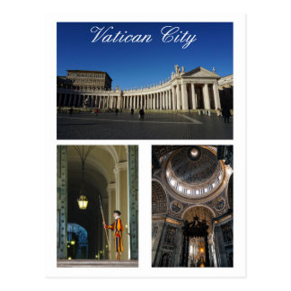 Vatican City Multi-view Postcard