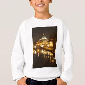 Vatican city, Rome, Italy at night Sweatshirt