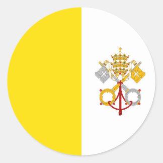 Vatican City Round Sticker