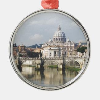 Vatican City Silver-Colored Round Decoration