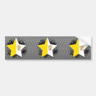 Vatican City Star Car Bumper Sticker