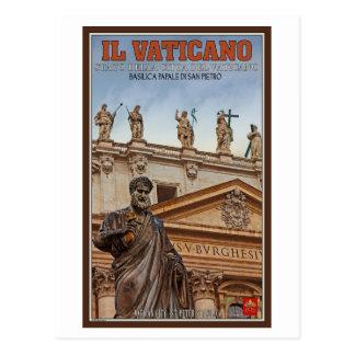 Vatican City Statues Postcard