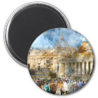 Vatican in  Rome Italy Magnet