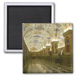 vatican museum square magnet