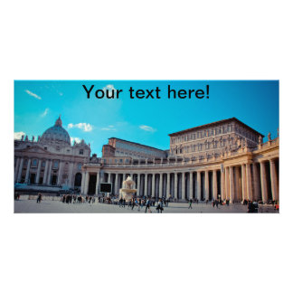 Vatican Personalized Photo Card