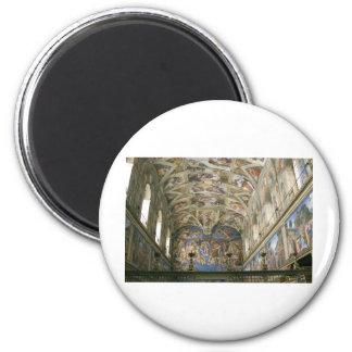 Vatican Sistine Chapel Magnet