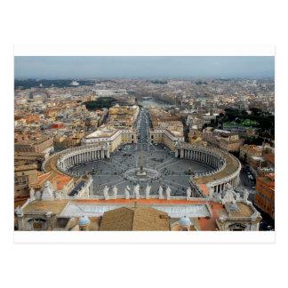 Vatican Square Postcard