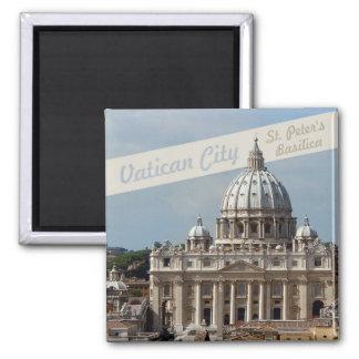 Vatican St Peters Basilica Photo Fridge Magnet