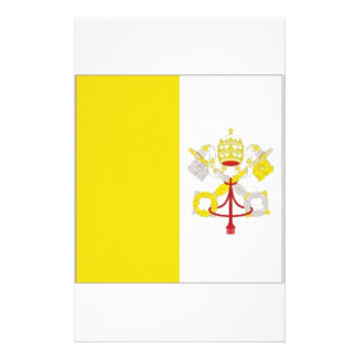 Vatican State Flag Customized Stationery