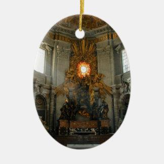Vatican views christmas ornament