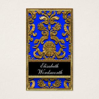 Vaudreante Kyles  Damask Professional Business Card