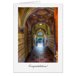 Vaulted Entrance - General Congratulations Greeting Card