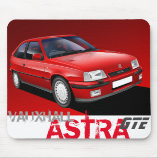 Vauxhall Astra GTE Mousemat