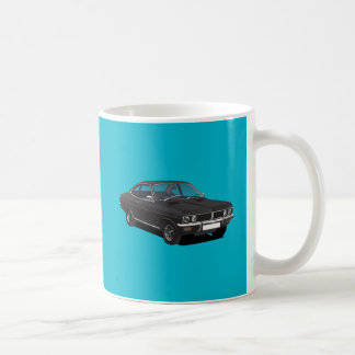 Vauxhall Firenza black Coffee Mug