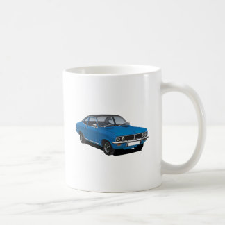 Vauxhall Firenza blue with black vinyl roof Coffee Mug