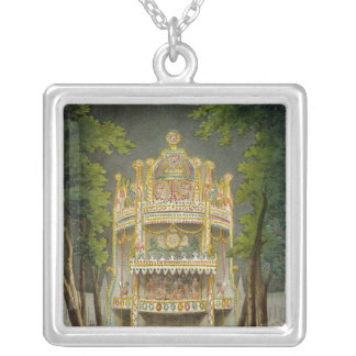 Vauxhall gardens, 1808 silver plated necklace