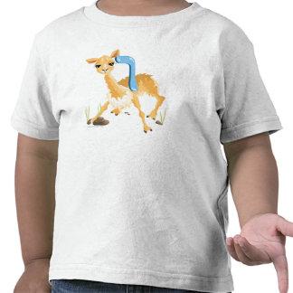 Vav Hebrew Aleph Bet Alphabet Vicuña T-Shirt