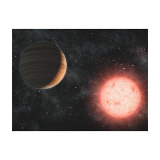VB 10 Alien Dwarf Star Planet Space Canvas Prints