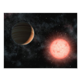 VB 10 Alien Dwarf Star Planet Space Photo Print
