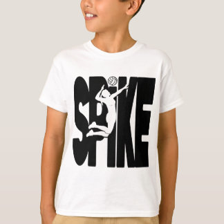 VB SPIKE, black T-Shirt