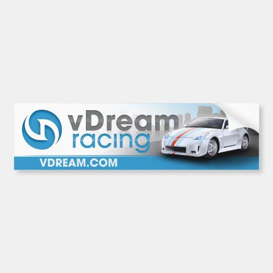 vDream Bumper Sticker (Blue)