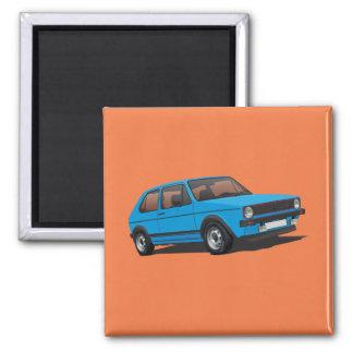 VDUB Golf GTI MK1 blue magnet