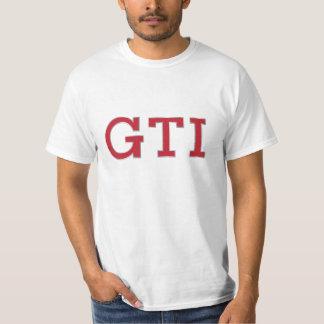 VDUB GTI badge (red - silver) t-shirt