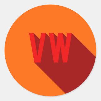 VdUB Round Sticker