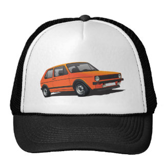 VDUB Wagen Golf GTI MK1 gray trucker hat