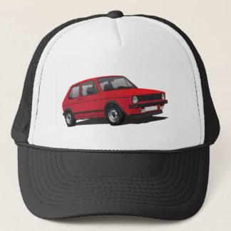 VDUB Wagen Golf GTI MK1 red cap