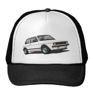 VDUB Wagen Golf GTI MK1 white trucker hat