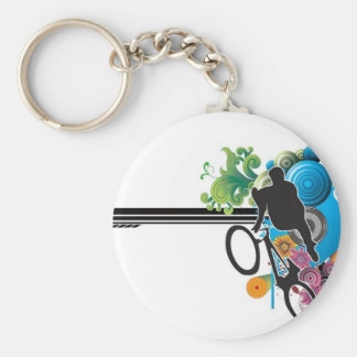 Vector_5875205 Basic Round Button Key Ring