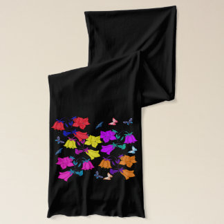 Vector - Abstract floral Scarf