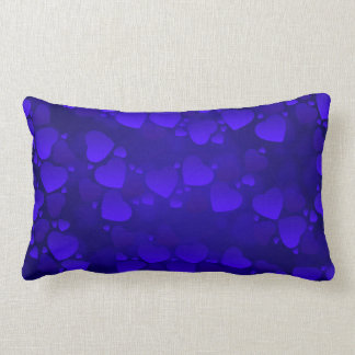 Vector Abstract  Hearts Throw Cushion